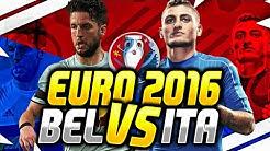 EM 2016 PROGNOSE - (GRUPPE E) BELGIEN VS ITALIEN
