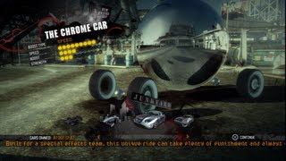 Burnout Paradise PS3 - secret sponsor cars + chrome car hacked - HD 720p