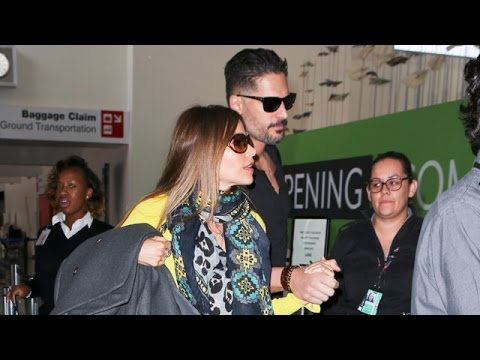 Sofia Vergara And Joe Manganiello Hold Hands, Keep Wedding Date Secret At LAX