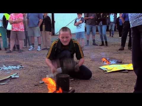 The Annual Boggabri Drovers' Campfire Billy Boiling Competition