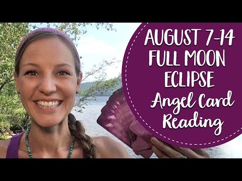 Full Moon Eclipse Angel Card Reading~...