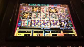 Cleopatra 2 decent bonus win $20 bet high limit slots
