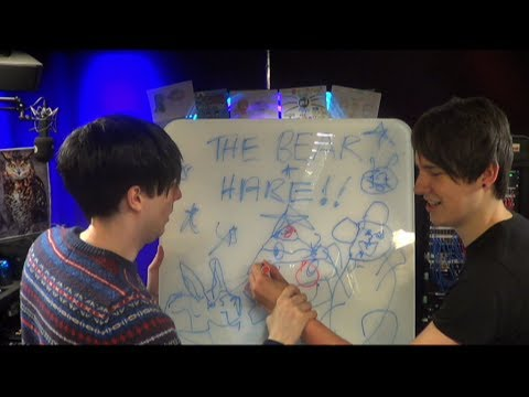 Dan Phil Recreate The Bear And Hare For Lily Allens Somewhere Only We Know