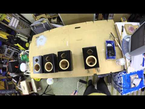 Painting the surround speakers