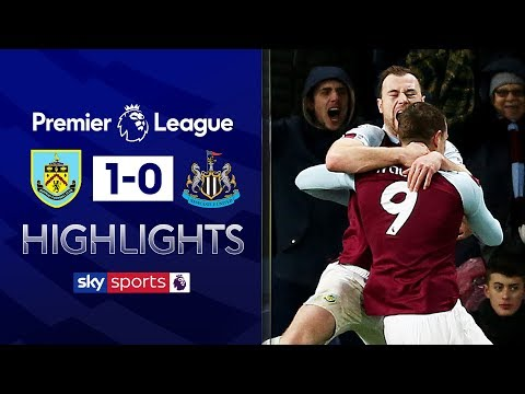 Wood leaps highest to score winning header! | Burnley 1-0 Newcastle | Premier League Highlights