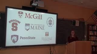 Katie Losquadro Transition Speech