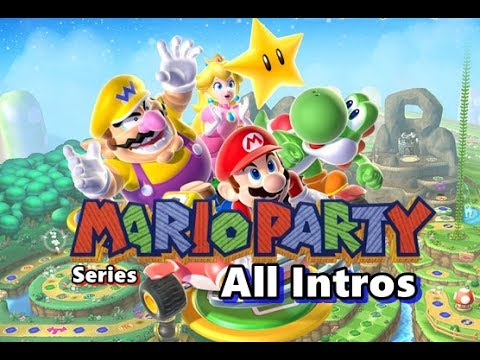 Mario Party Series. - All intros (N64 - 3DS)