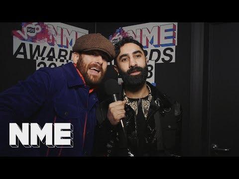 "Rudimental: ""Michael Eavis came to our DJ set!"" | VO5 NME Awards 2018"