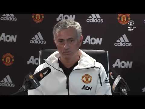 Jose Mourinho Pre-Match Press Conference V Man City