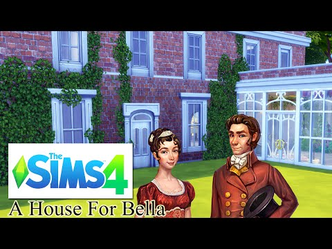 A House for Bella from Regency Solitaire ||  Sims 4  (1/Some)