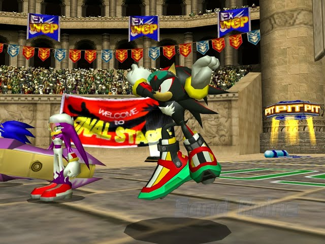 Sonic Riders™ PC - (60 FPS) - Sand Ruins (Shadow + Darkness)