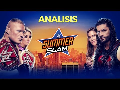 Summerslam 2018 - Analisis WWE