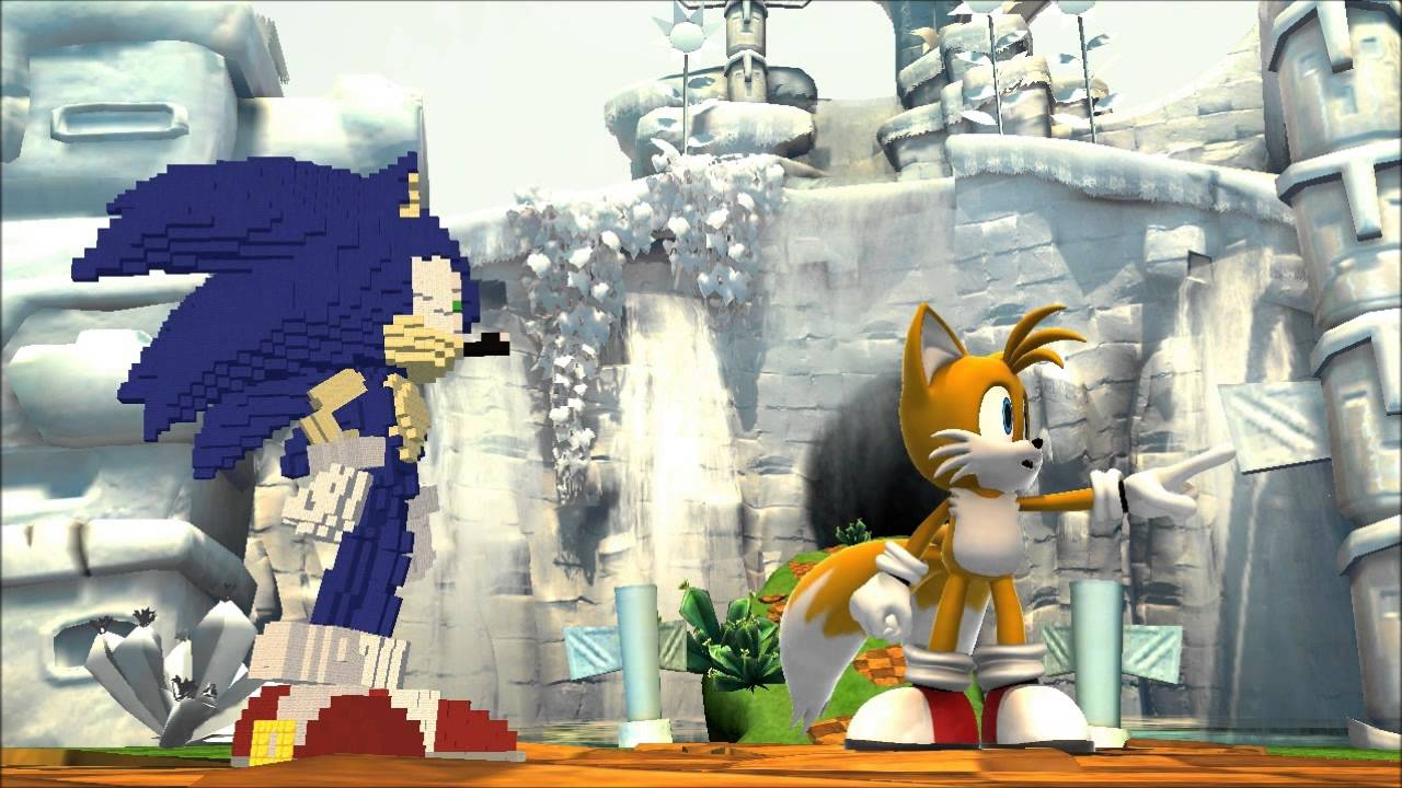 Sonic Generations Mod Minecraft Sonic YouTube - Skins para o minecraft sonic