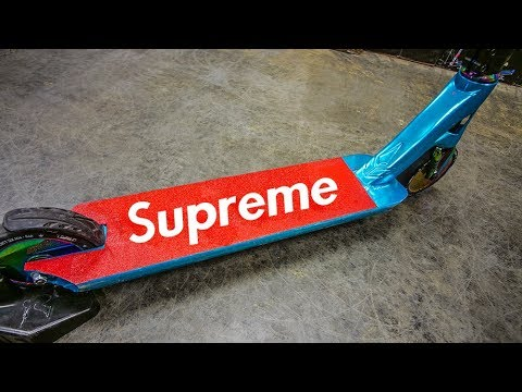 $10,000 SUPREME HYPEBEAST SCOOTER?! - YouTube