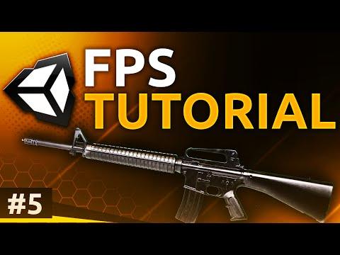UNITY FPS TUTORIAL 5 - Easy Shooting & Enemy AI