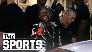 Floyd Mayweather: I Still Haven't Cashed Pacquiao or McGregor Checks | TMZ Sports