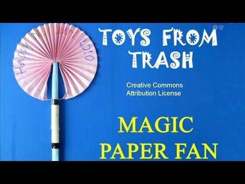 Magic Paper Fan   Nepali