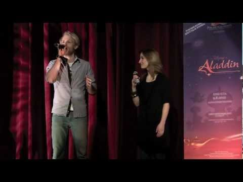 Disney's Aladdin - Press Conference 1/2/2012