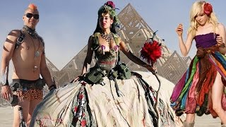 Crazy Burning Man Costumes 2014