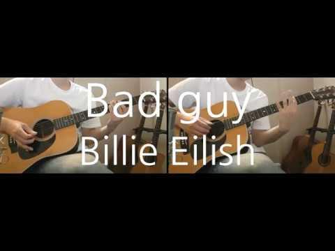 Billie Eilish - bad guy Guitar cover