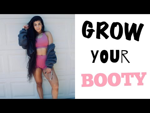 GROW A BOOTY WITH BASIC GYM EQUIPMENT