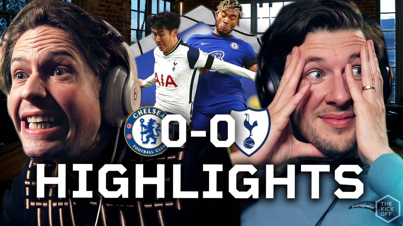 Mourinho Goes Top With Draw Against Lampard! Chelsea 0-0 Spurs Highlights...