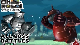 Chibi-Robo! Zip Lash - All Bosses