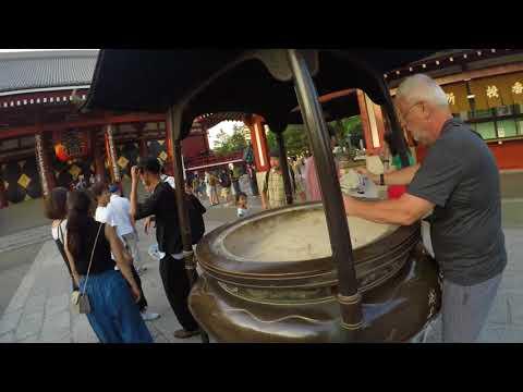 Tokyo: in mezzo ai templi di Asakusa un'oasi nella metropoli (giro del mondo)