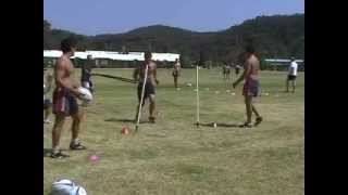 Rugby Training With The Saq® Viperbelt (speed, Agility, Quickness (saq®)