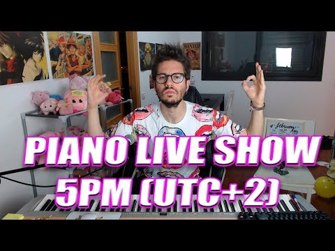 Anime Pop Movies Disney PIANO STREAM! ROAD to 2k Subs!