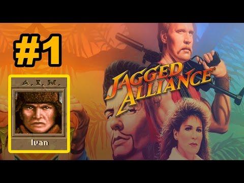 Убойное прохождение Jagged Alliance 1 - #01 Микроочиститель