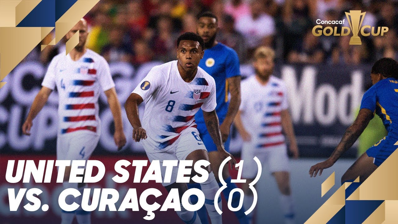 United States 1, Curacao 0 | 2019 Concacaf Gold Cup Match Recap