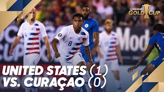 United States (1) vs. Curaçao (0) - Gold Cup 2019