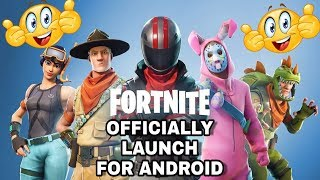 Fortnite DownLoad sur Android (fr) v5.2.0 - France Lancement officiel
