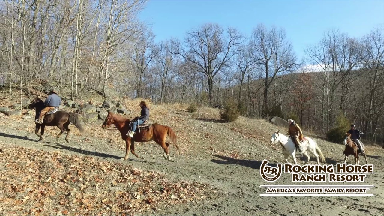 Rocking Horse Ranch Winter Video Tour Youtube
