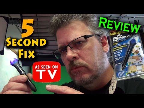 5 Second Fix - UV Light Liquid Plastic Welding Tool - Review