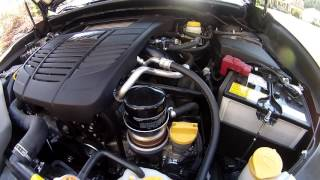 Subaru 2015 - 2016 - 2017 WRX oil change.