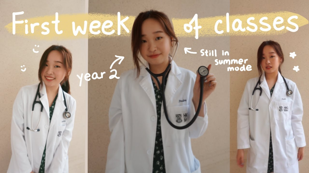 First Week of Medical School//YEAR TWO VLOG