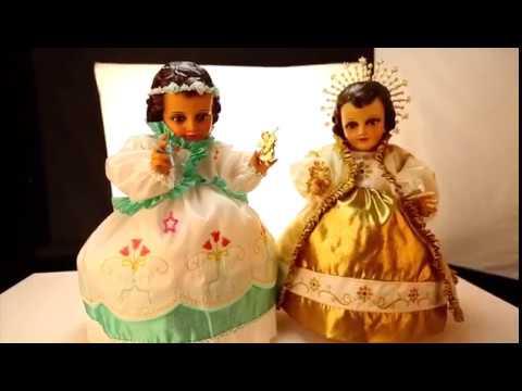 Confeccion De Vestidos De Niño Dios Youtube