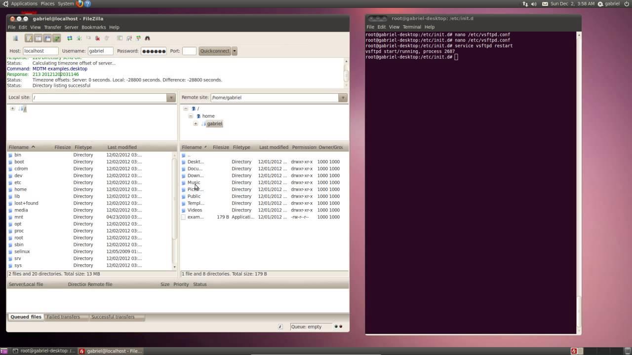 Linux FTP VSFTPD Configuration