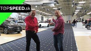 Autosalón BA 2019 PREMIÉRY - Alex ŠTEFUCA a Maroš ČABÁK TOPSPEED.sk