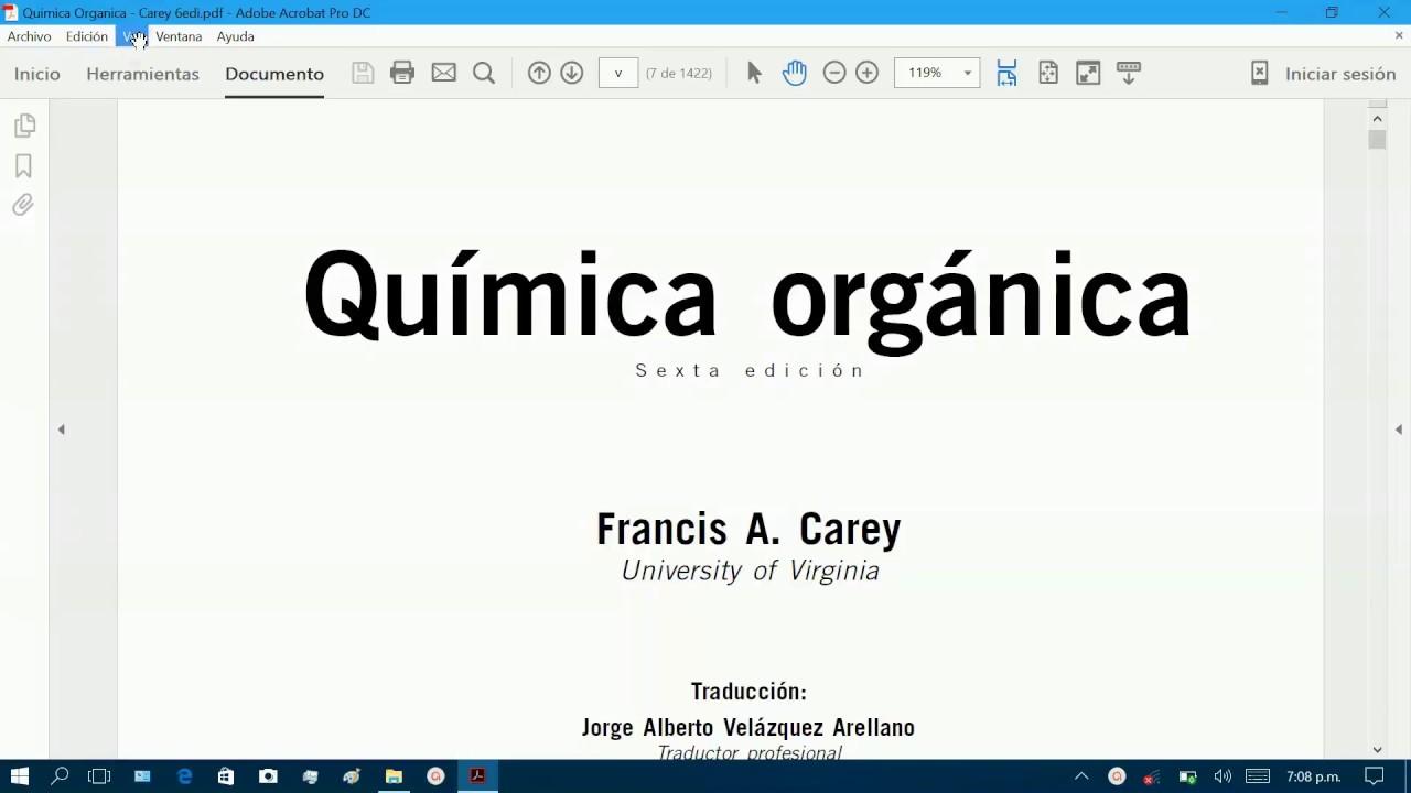 libro morrison quimica organica pdf descargar