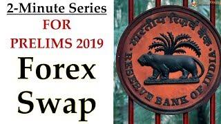 2-Minute Series - ECONOMY - FOREX SWAP || Prelims 2019