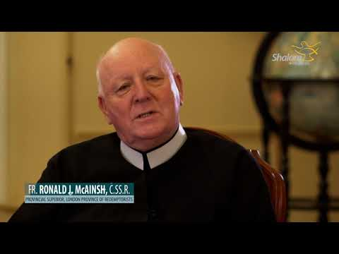 Christmas Message : Fr. Ronald J. McAinsh, Provincial Superior, London Province of Redemptorists