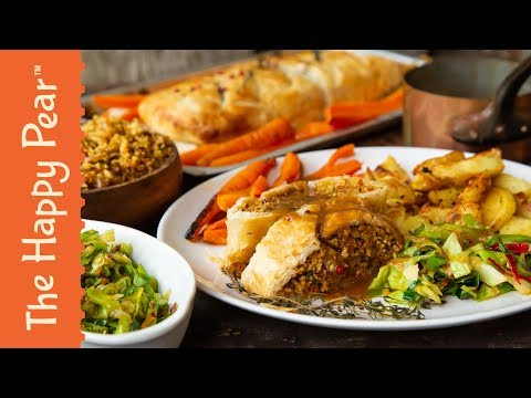 €2 VEGAN CHRISTMAS DINNER | THE HAPPY PEAR
