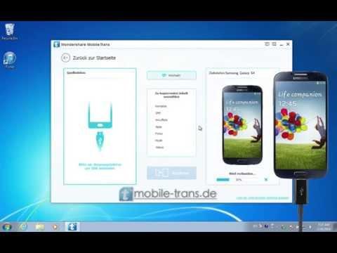 Wie Sie Daten wie Kontakte, SMS und Musik von iPhone auf Galaxy S6 Edge+/S6/S5/S4/S3 übertragen.