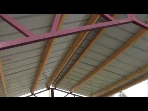 "Steel Trusses For Utility Buildings ""DIY"""