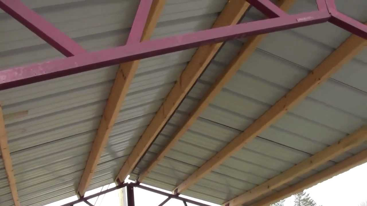 Steel Trusses For Utility Buildings Quot Diy Quot Youtube