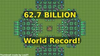 ZOMBS.IO WORLD RECORD (62.7 BILLION) // BEST BASE EVER Bryan Smith