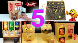 WOW! 5 Amazing Thing You Can Do at Home from Cardboard - Beginner Life compilation
